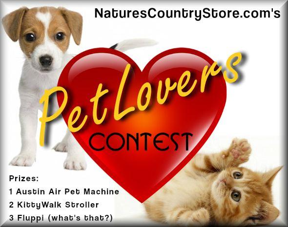 Pet Lovers Contest Logo