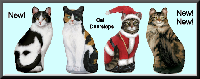 Adorable Cat Doorstops