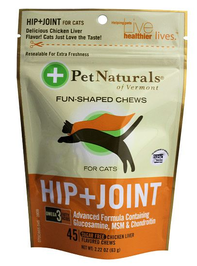 Pet Naturals of Vermont Hip and Joint for Cats, 45 Softchews