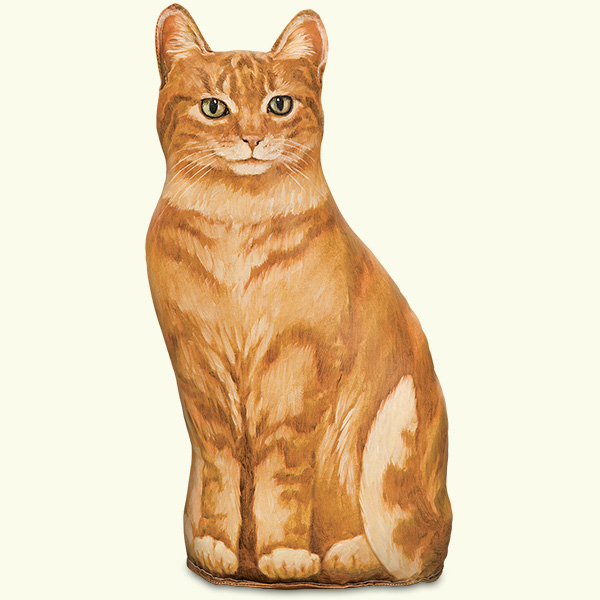 Ginger Cat Doorstop