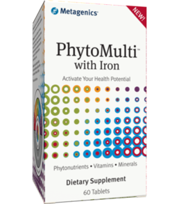 Metagenics PhytoMulti with Iron, 60 tabs