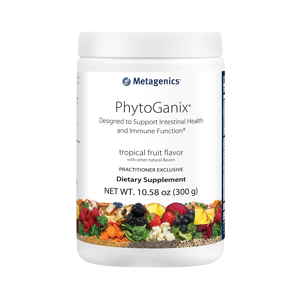 Metagenics Phytoganix, Tropical Fruit Flavor, 10.58 oz
