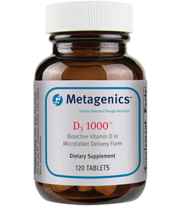 Metagenics D3 1,000 120 tabs