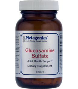 Metagenics Glucosamine Sulfate 500 mg, 60 and 90 tabs
