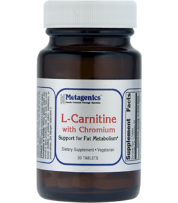 Metagenics L-Carnitine w/Chromium 30 tabs