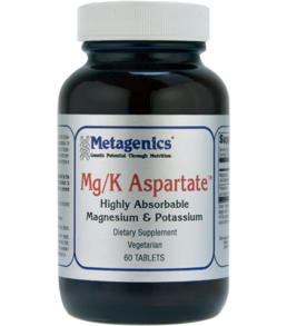 Metagenics Mg/K Aspartate 60 tabs
