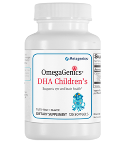 Metagenics OmegaGenics DHA Children's 120 gels