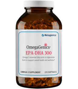 Metagenics OmegaGenics EPA-DHA 300, 90 and 270 gels