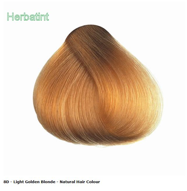 Herbatint Light Golden Blonde 8D Hair Color