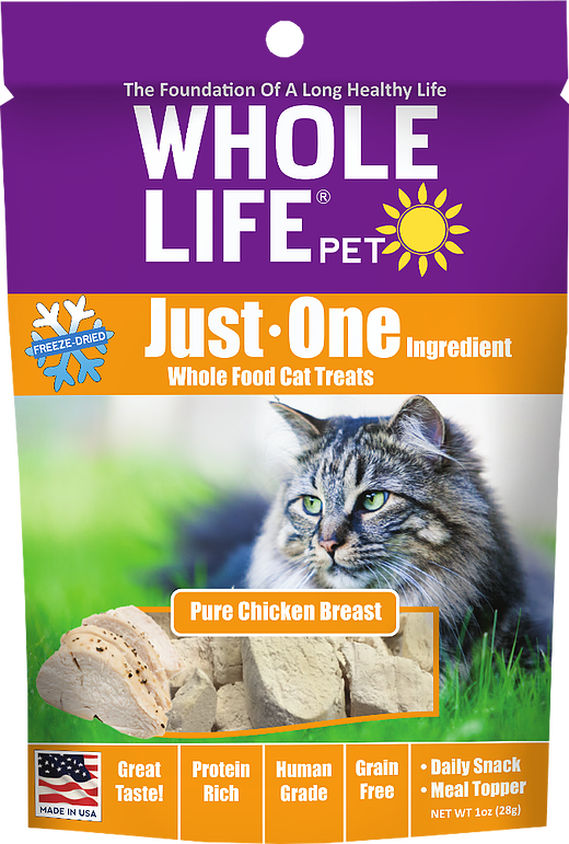Whole Life Chicken Treats for Dogs or Cats