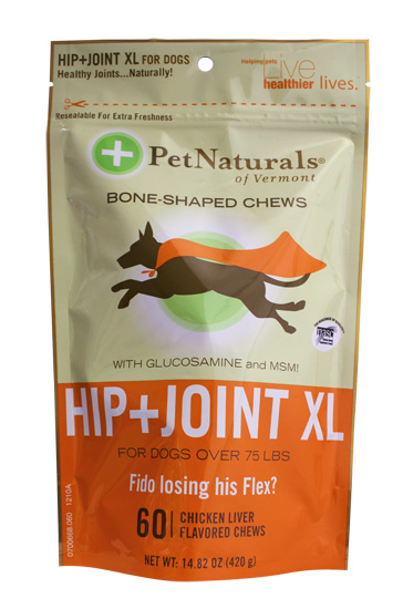 Pet Naturals of Vermont Hip and Joint Treats for XL Dogs, 45 softchews