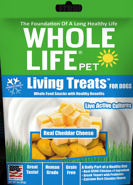 Whole Life Pet Living Treats with Probiotics for Dogs