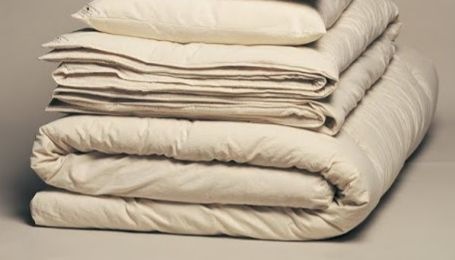 "3"" Cotton/Pure Grow Wool (tm) Mattress Topper"