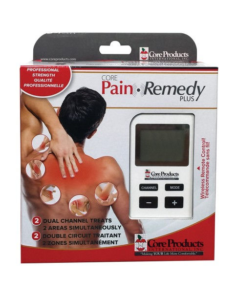 Pain Remedy Plus Wireless TENS Unit by CORE
