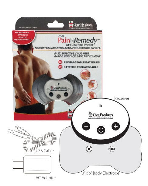 Pain Remedy Wireless TENS Unit by CORE