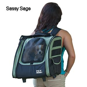 Wheeled Pet Carrier