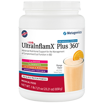 Metagenics UltraInflamX Plus 360, approx. 22 oz