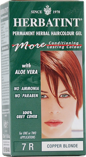 Herbatint Copper Blonde 7R Hair Color