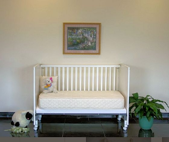 Natural & Organic Innerspring Crib Mattress