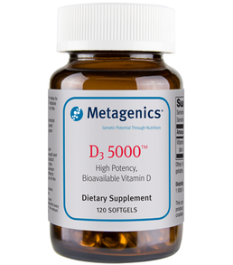 Metagenics D3 5000, 120 Softgels