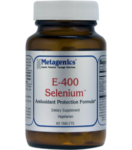Metagenics E-400 Selenium 60 and 180 Tabs