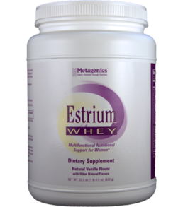 Metagenics Estrium Whey Natural Vanilla oz