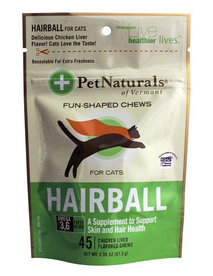 Pet Naturals of Vermont Hairball Relief, 45 Softchews
