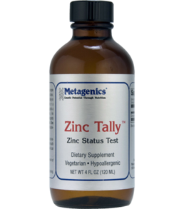 Metagenics Zinc Tally Test 4 Fl. Oz.
