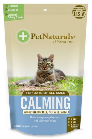 Pet Naturals of Vermont Calming for Cats, 30 softchews