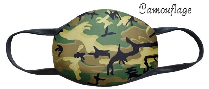 Camouflage Fun Washable Mask