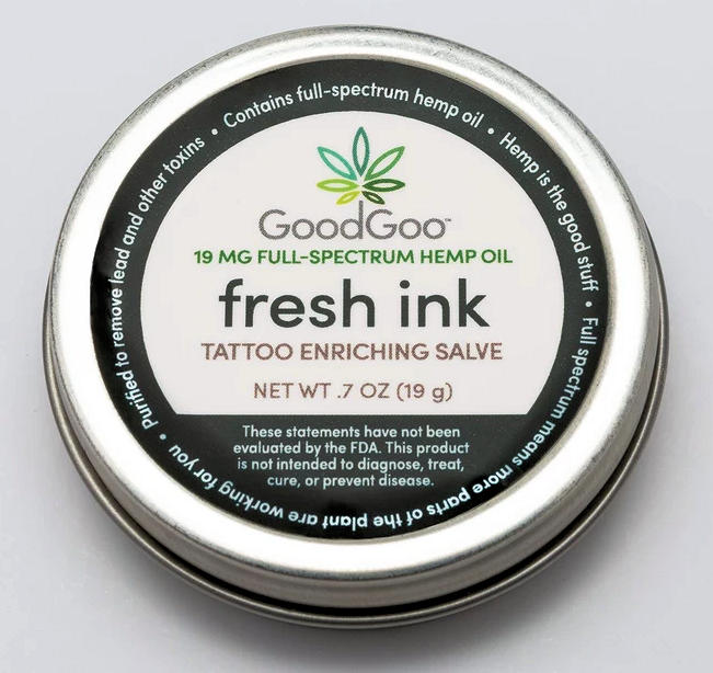 Good Goo CBD Fresh Ink Tatoo Salve