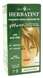 Herbatint Golden Blonde 7D Hair Color