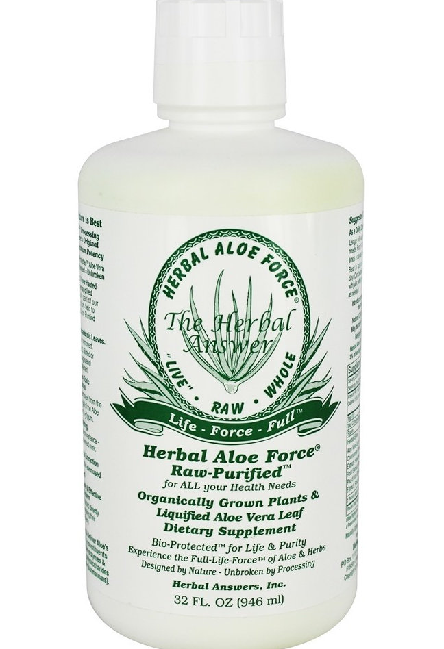 Herbal Aloe Force Juice 32 Fl. Oz.