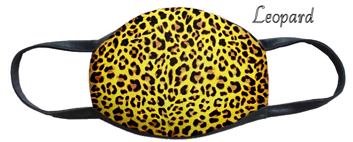 Leopard Fun Washable Mask