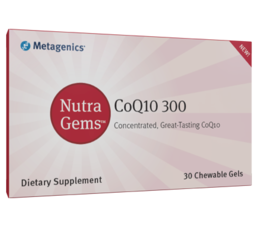 Metagenics NutaGems CoQ10 300, 30 chewable gels