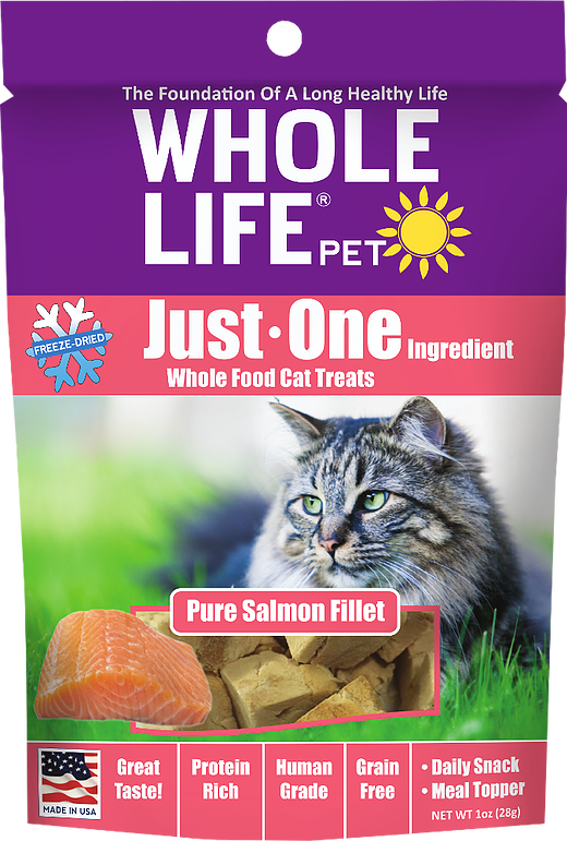 Whole Life Salmon Treats for Dogs or Cats