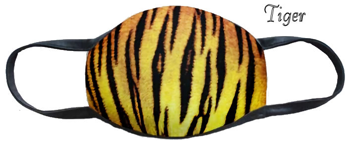 Tiger Stripe Fun Washable Mask