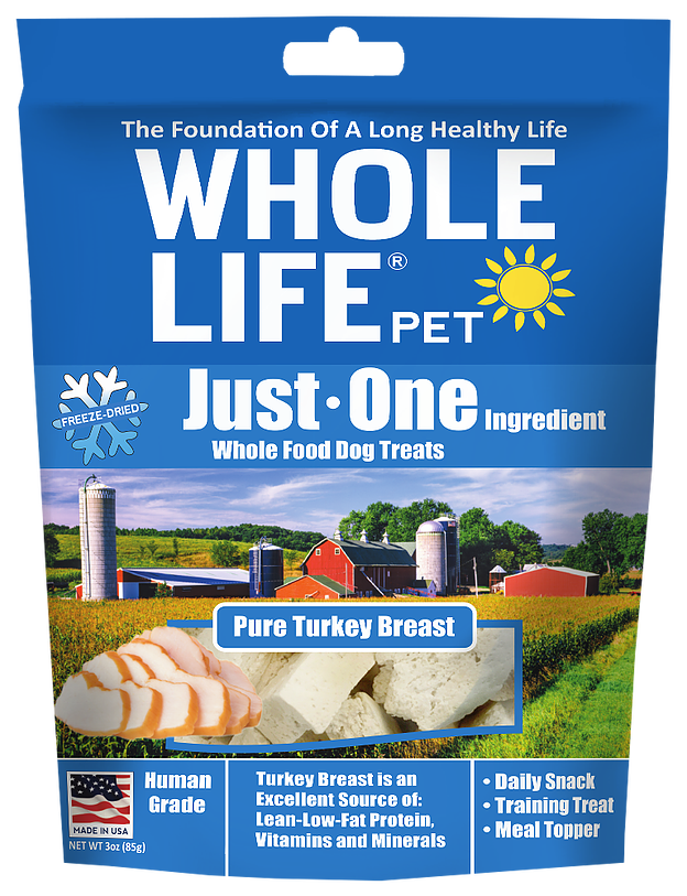 Whole Life Turkey Treats for Cats and Dogs