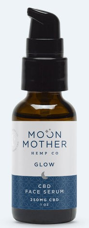 Moon Mother CBD Glow Serum, 1 oz., 250 mg.