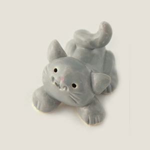 Little Guys Gray Cat