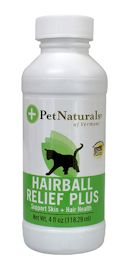 Pet Naturals of Vermont Hairball Relief Plus, 4 oz.