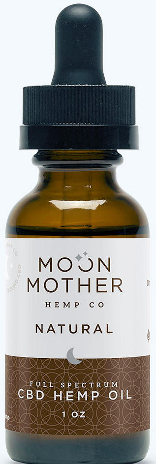 Moon Mother Organic Full Spectrum Hemp Oil Tincture Unflavored