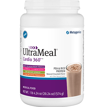 Metagenics UltraMeal Cardio 360 Pea & Rice Protein (tm)